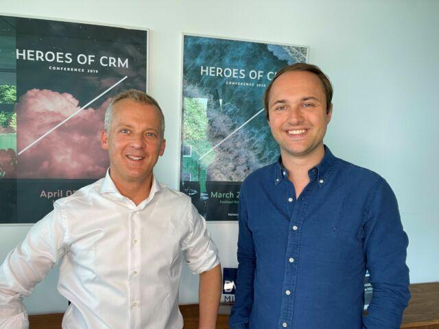Erik Siekmann und Manuel Hinz